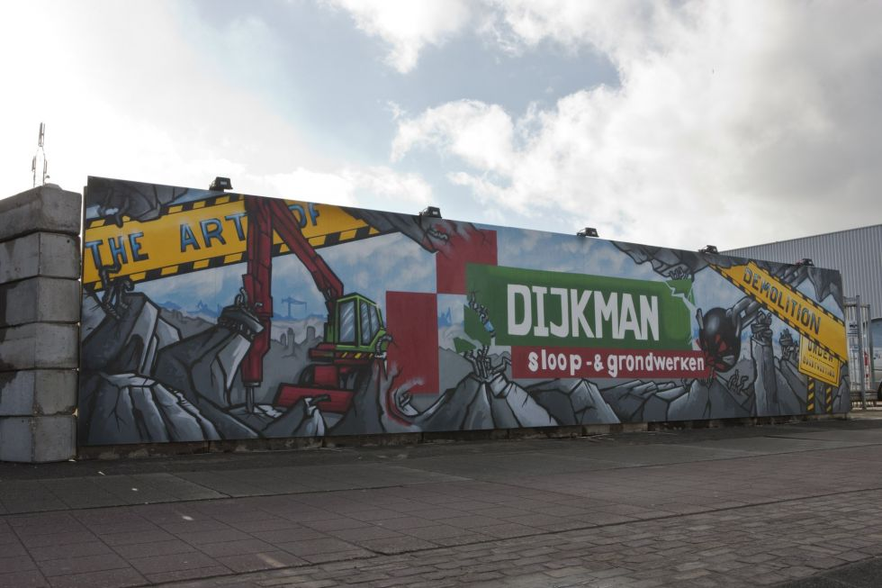 graffiti bedrijf logo dijkman