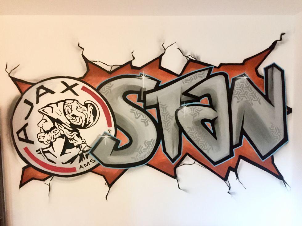 Ajax graffiti