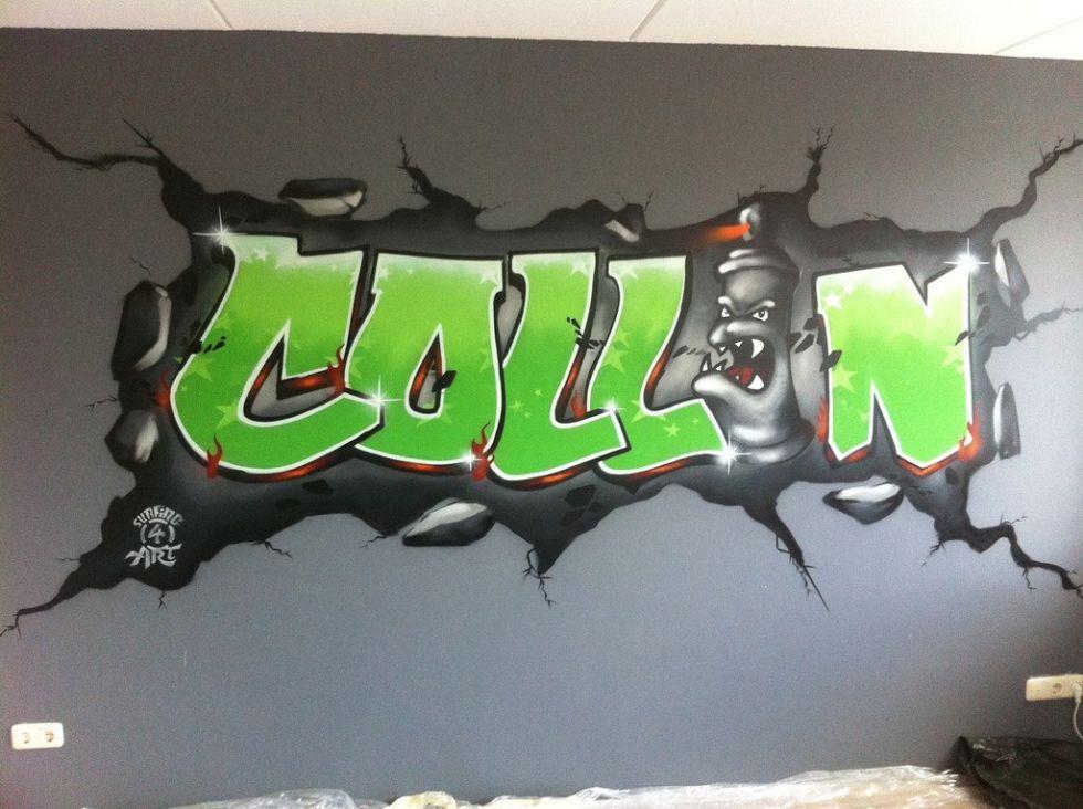 graffiti collin