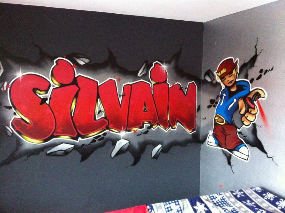 graffiti silvain