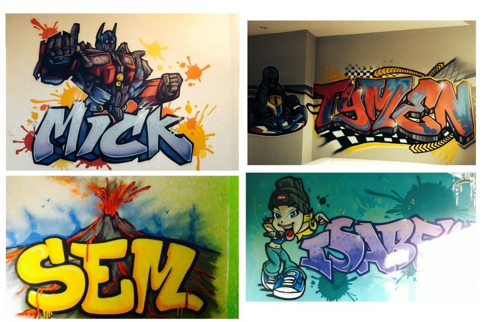 Graffiti mix