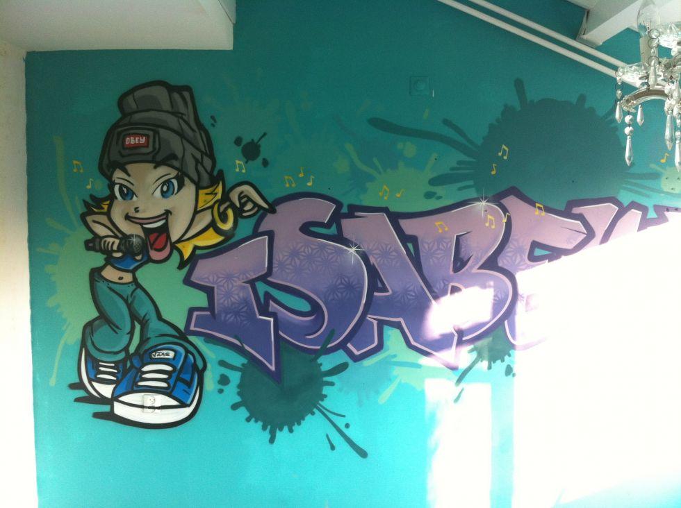 Naam in graffiti ? Dan kan !