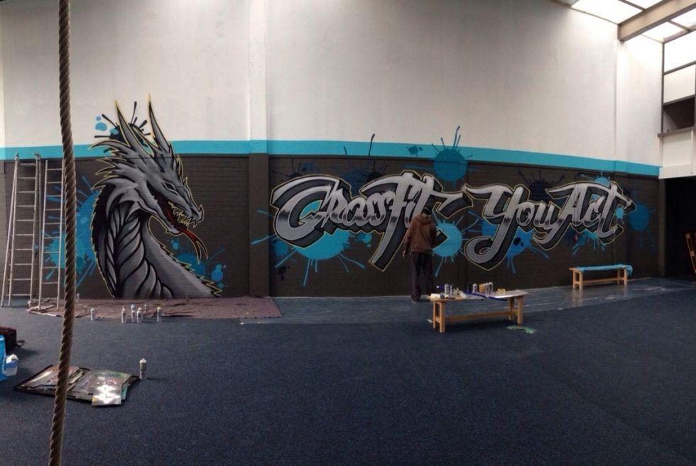 Crossfit graffiti