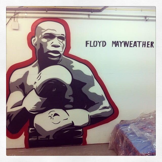 graffiti floyd mayweather
