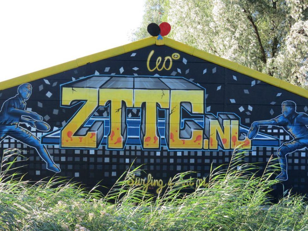 Graffiti muurschildering voor bedrijven