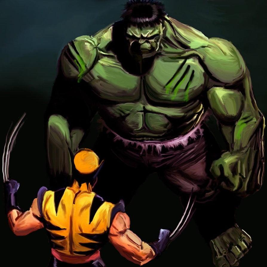 Hulk_Vs_Wolverine_by_R0sesAreRed