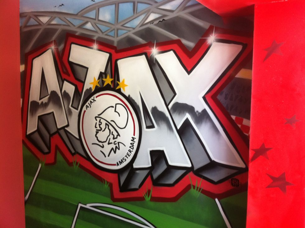Ajax graffiti  Surfing4art