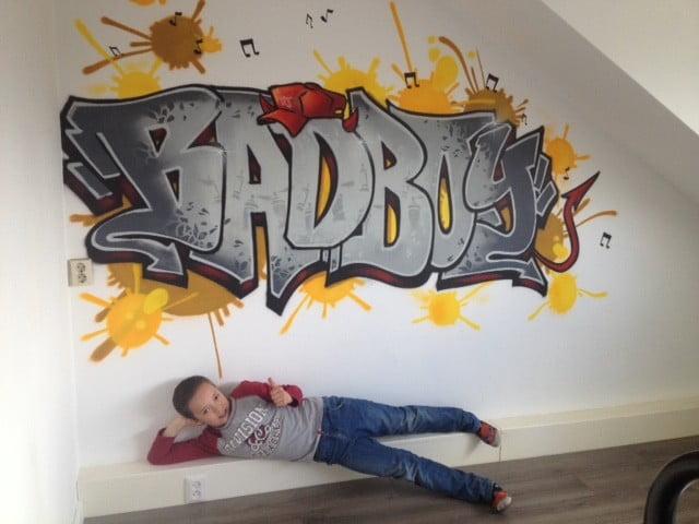 graffiti slaapkamer semm