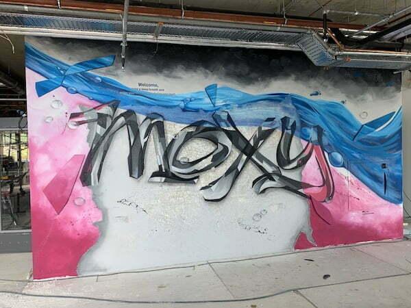 graffiti binnen
